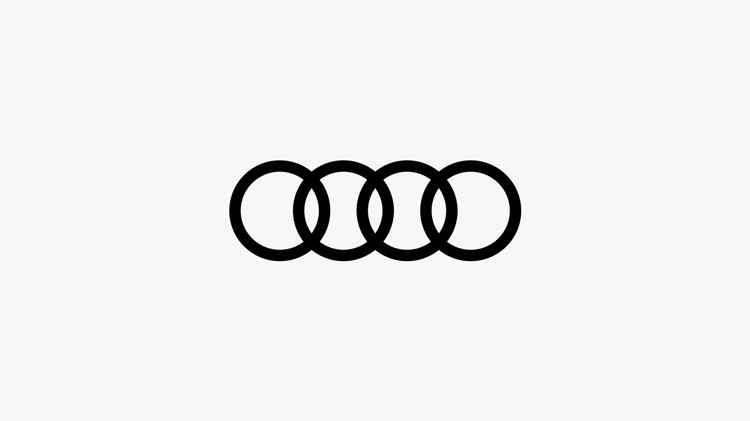 Audi project - Professional work