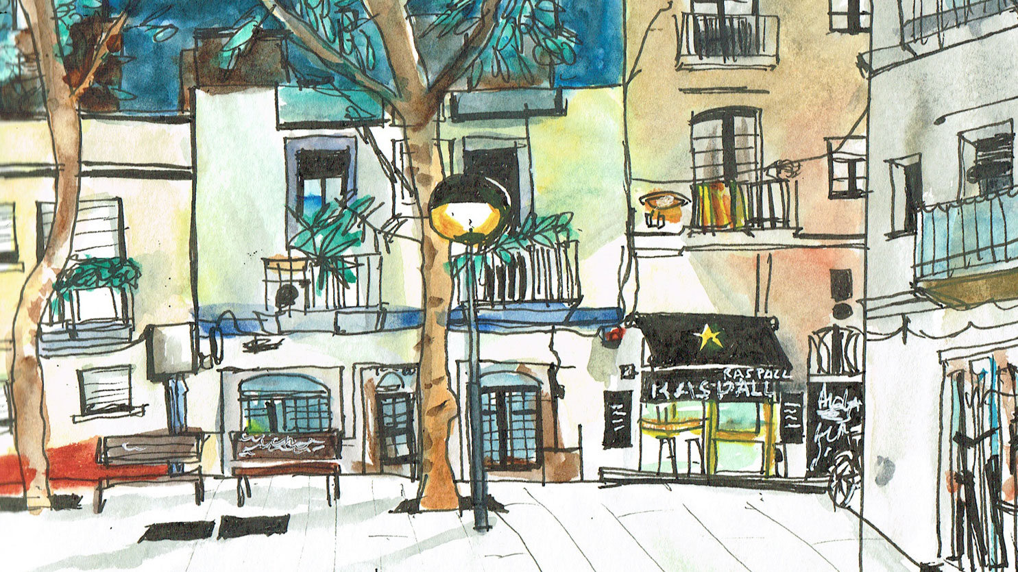 Urban sketching project - My sketches