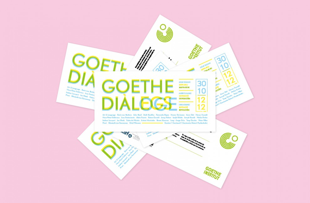 Goethe Dialogues tickets.